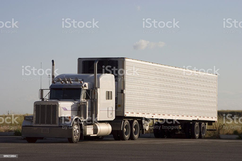 Big Rig Truck 3 royalty-free stock photo