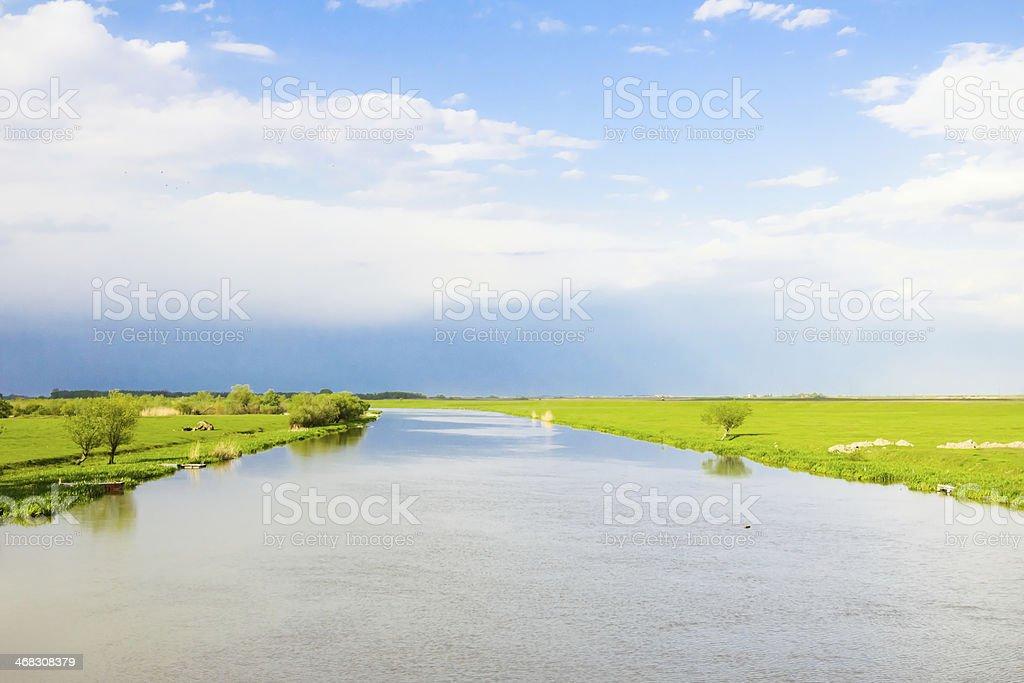 Big river royalty-free stock photo