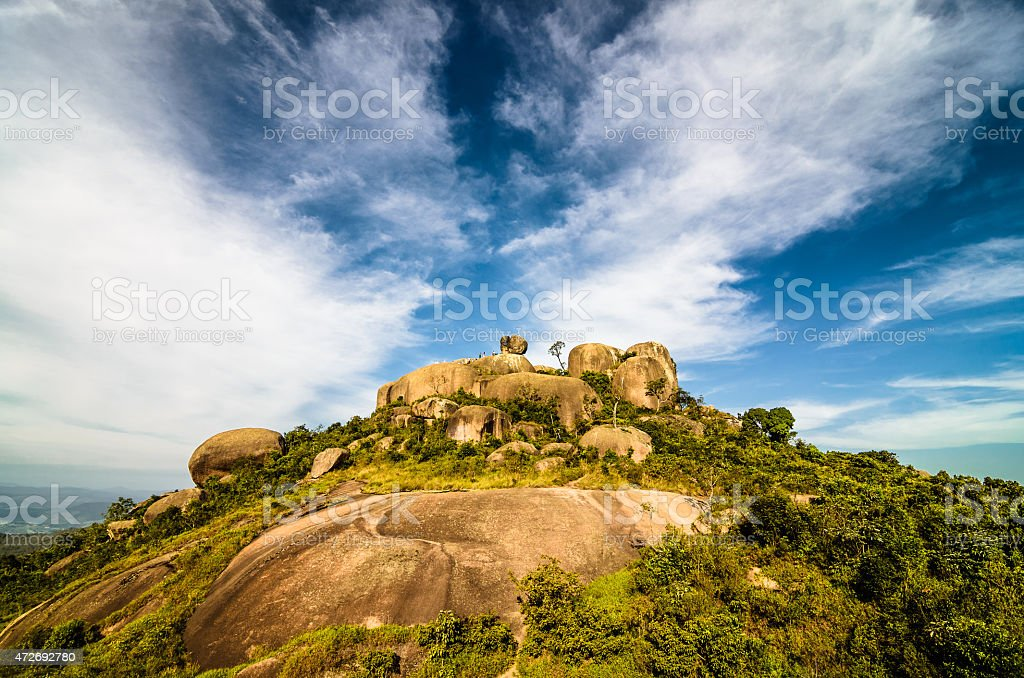 Big Rock Mountain (Pedra Grande) na à Atibaia - foto de acervo