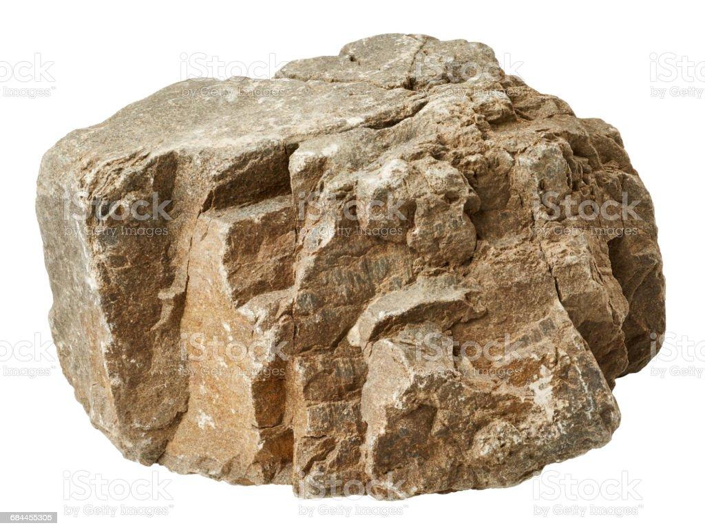 Big rock royalty-free stock photo