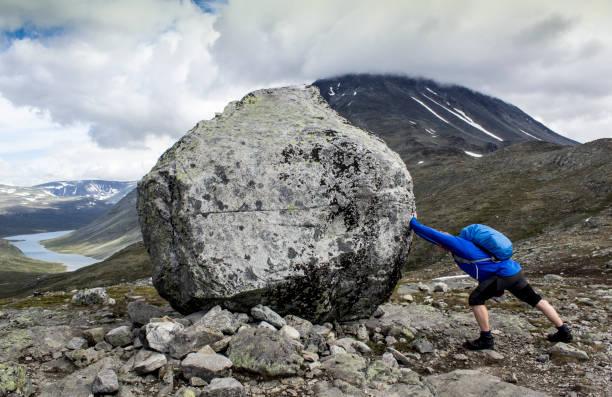 big rock - boulder rock stock pictures, royalty-free photos & images
