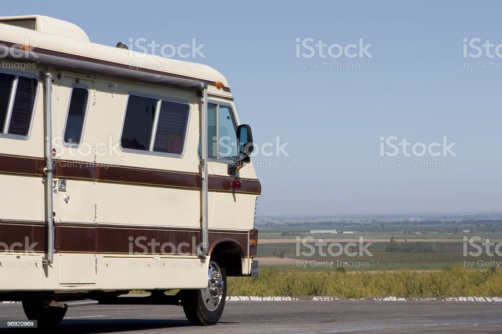 Big RV royalty-free stock photo