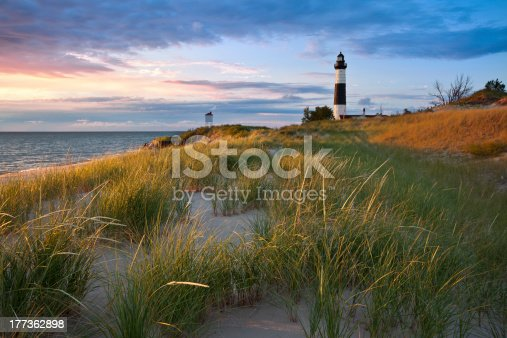 istock Big Sable Point Lighthouse. 177362898