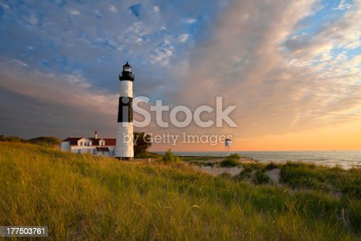 177362898 istock photo Big Sable Point Lighthouse. 177503761