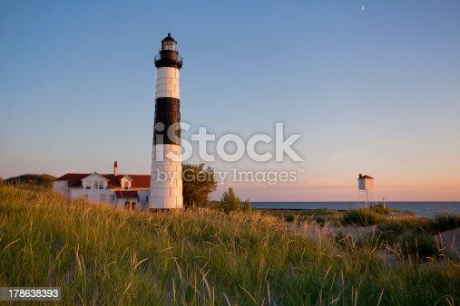 177362898 istock photo Big Sable Point Lighthouse. 178638393