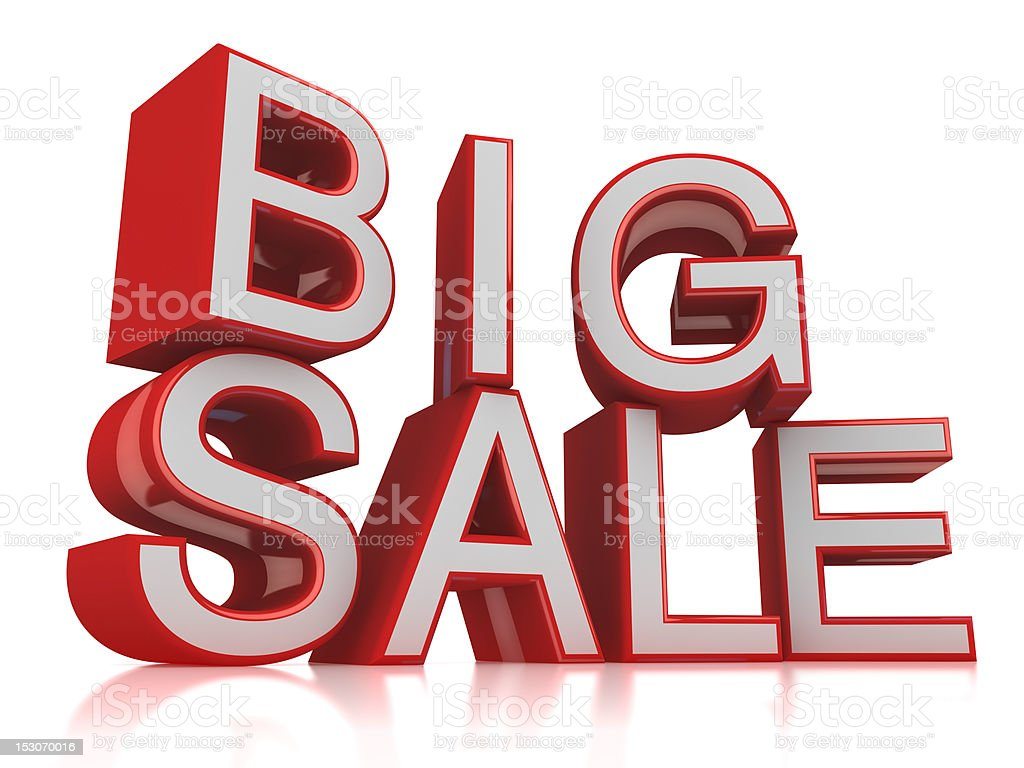 Big Sale royalty-free stock photo