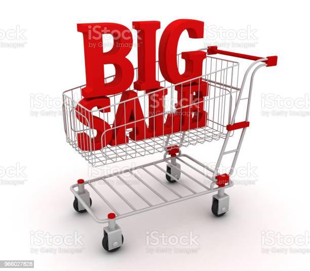 Большой Текст Продажи В Корзине — стоковые фотографии и другие картинки Абстрактный