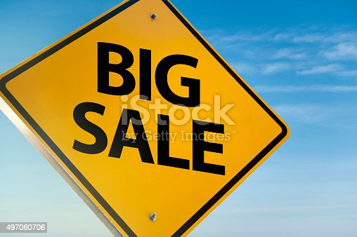 istock Big Sale / Warning sign (Click for more) 497060706