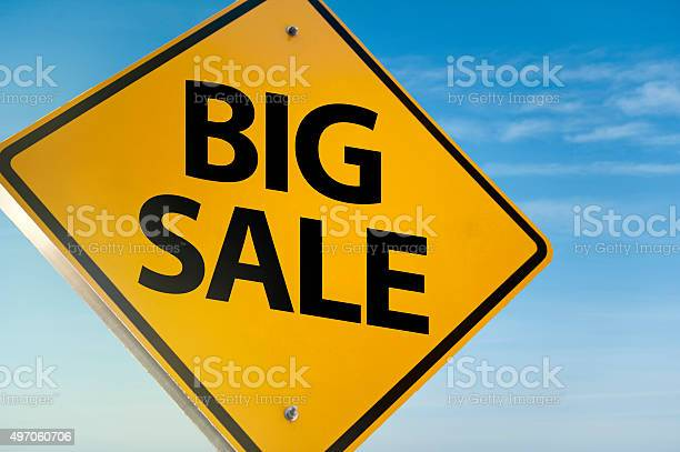 Big Sale / Warning sign (Click for more)