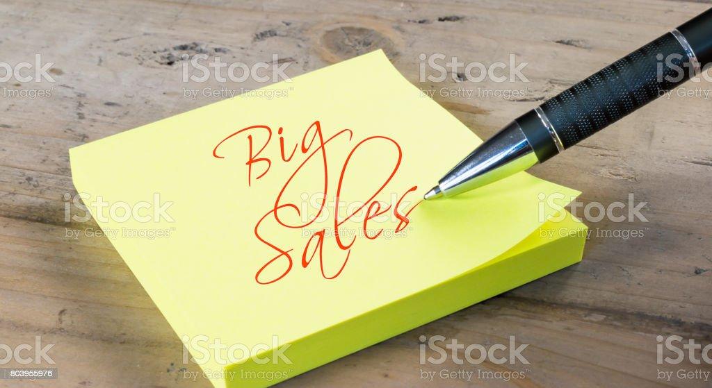 Big Sales stock photo