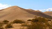 Big Sand Dunes in the desert of Nevada