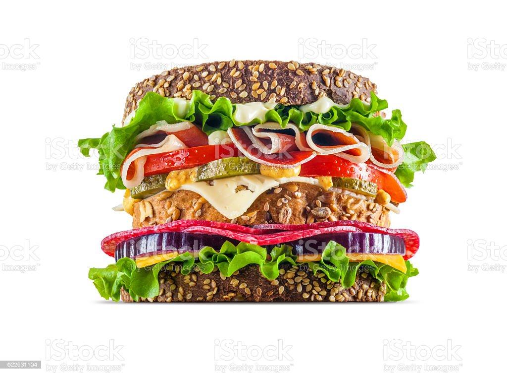 Big Sandwich stock photo
