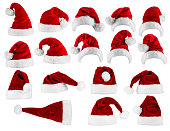 big santa hat collection