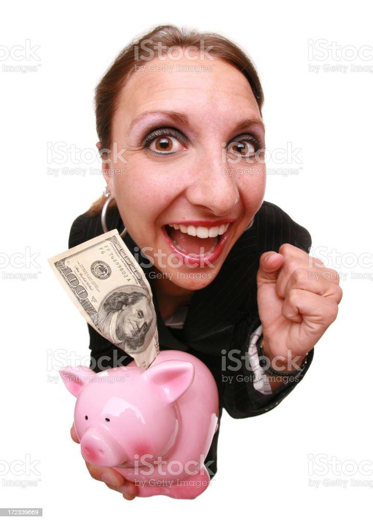 Big Savings royalty-free stock photo