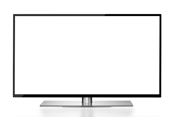 big screen led tv - flat screen stock photos and pictures