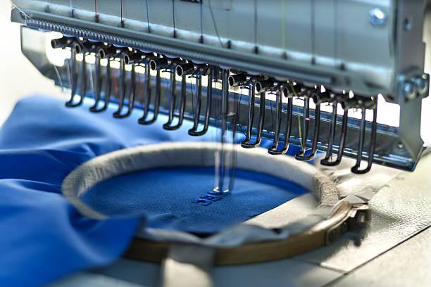 Big sewing workshop - foto de stock