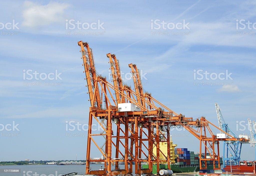 Big Ship, Bigger Cranes