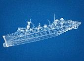 Big Ship blueprint