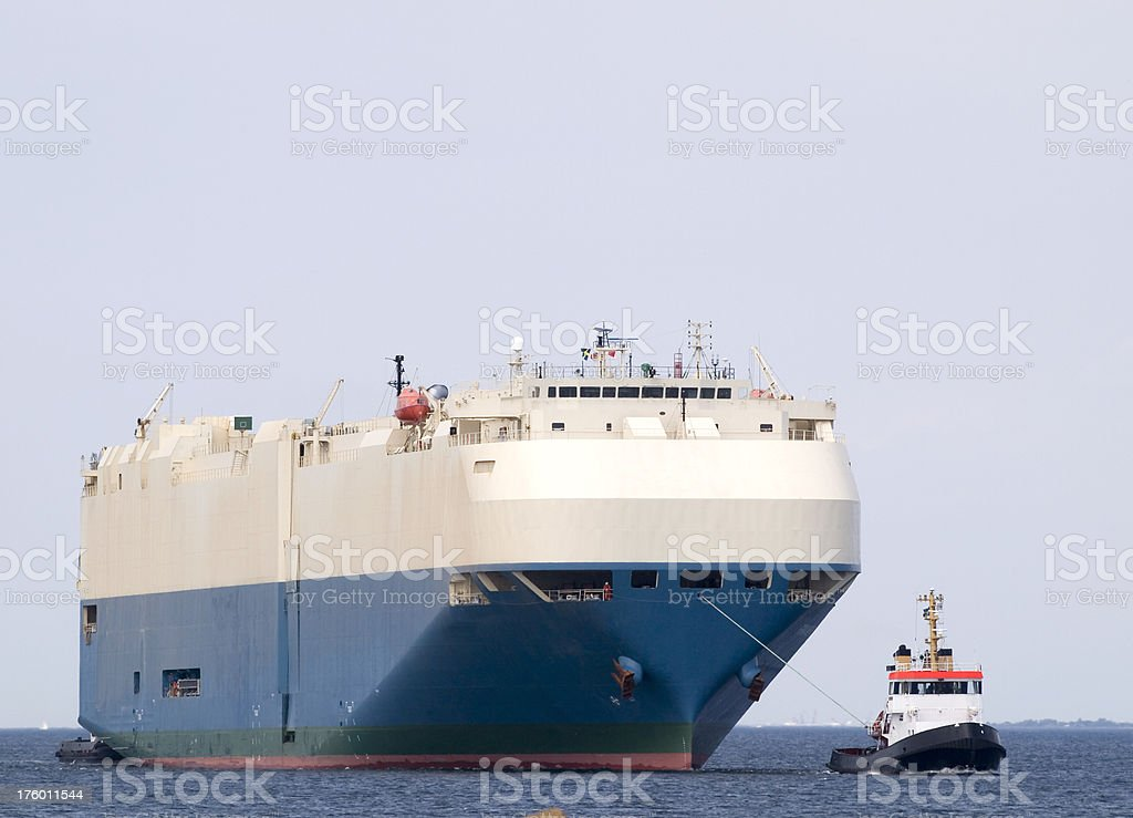 Big Ship royalty-free stock photo