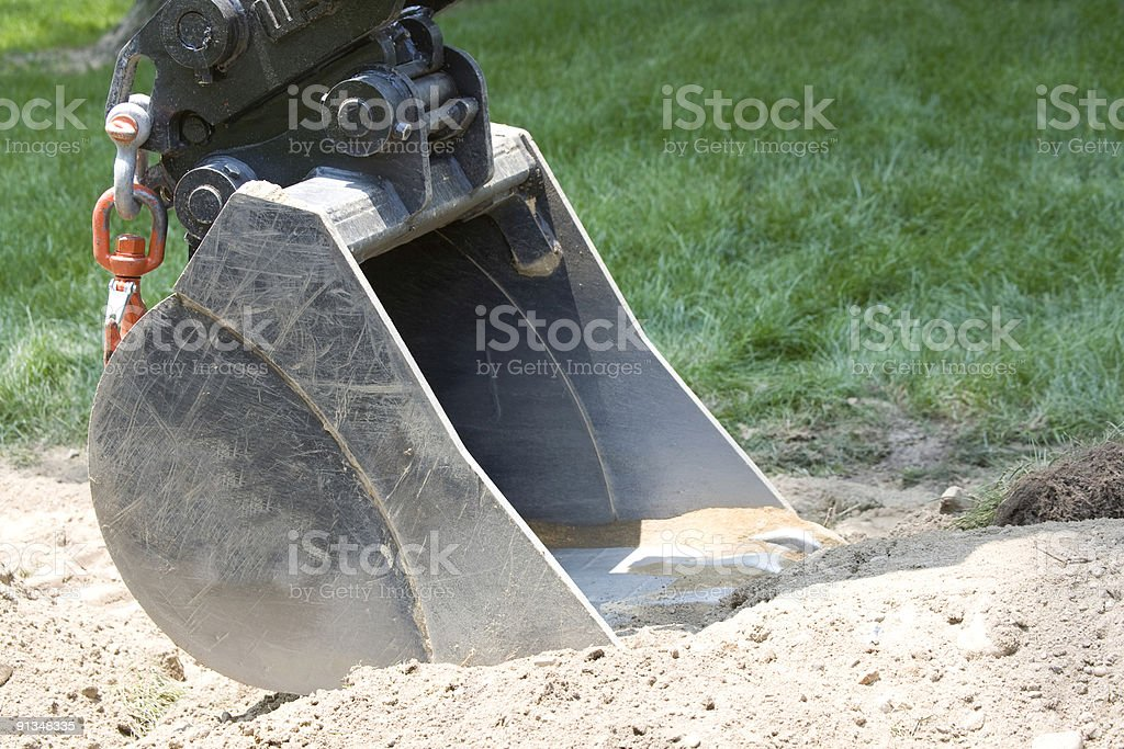 Big Shovel stock photo