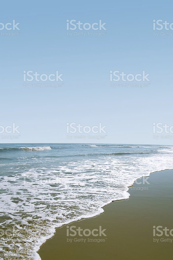 Big Sky Beach royalty-free stock photo