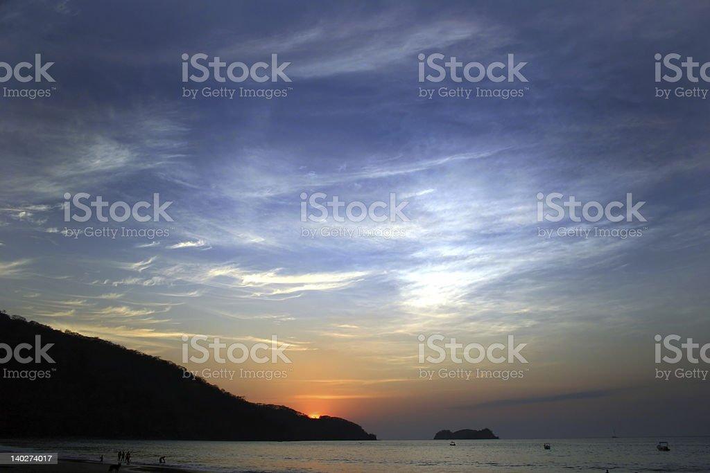 big sky stock photo