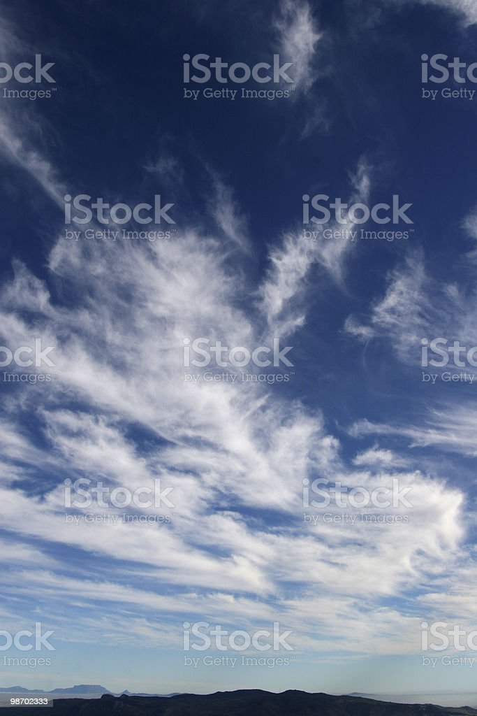big sky royalty-free stock photo