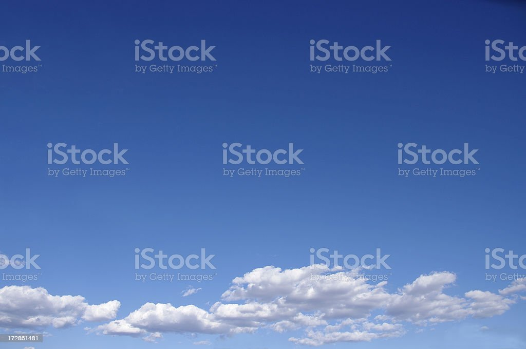 big sky with cloud royalty-free stock photo