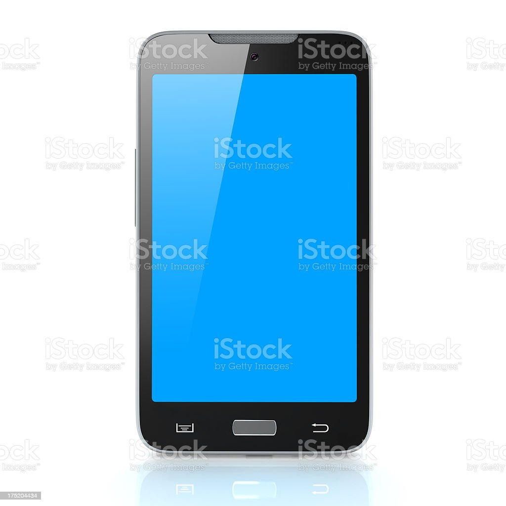Big Smart Phone royalty-free stock photo