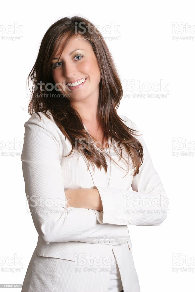 Big smile from cute female royalty-free stock photo