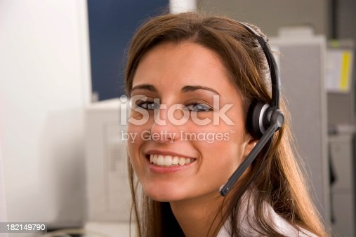 istock Big Smile Operator Close 182149790