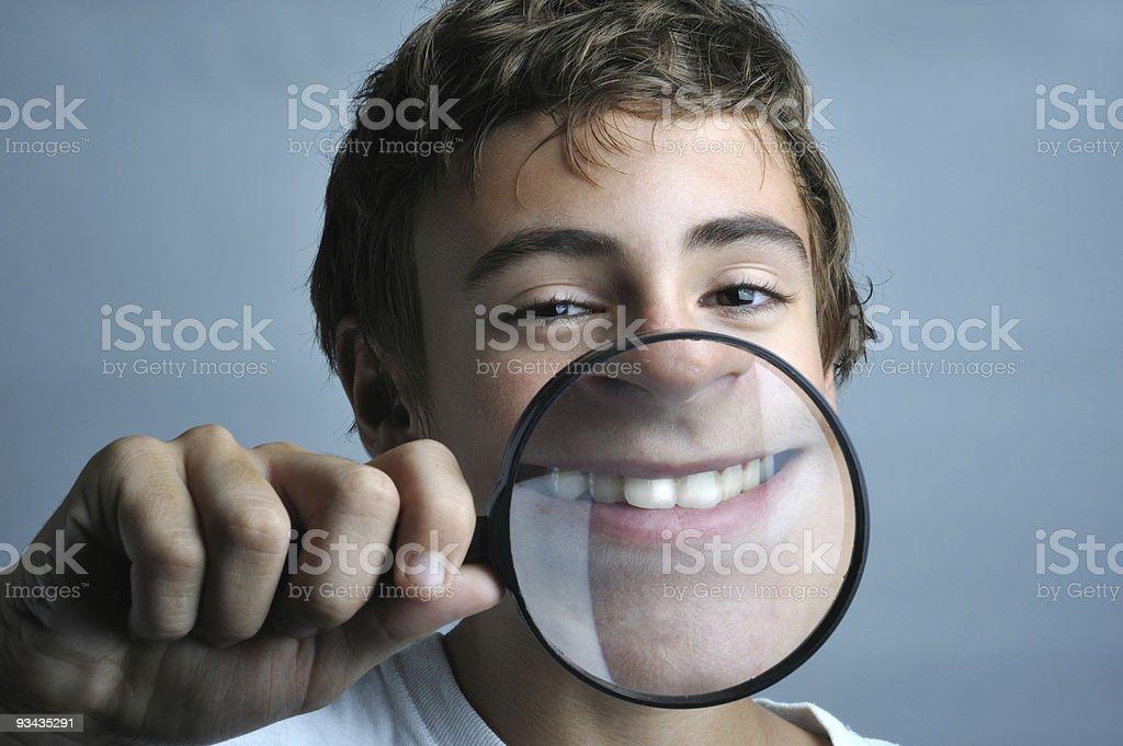 Big Lächeln Lizenzfreies stock-foto