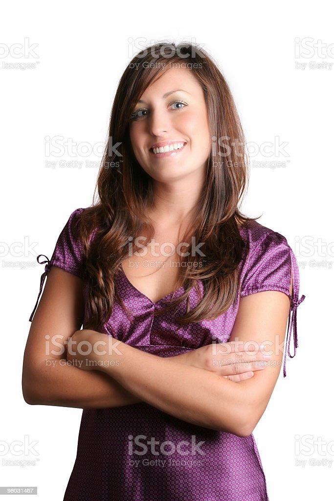 Grande sorriso foto stock royalty-free