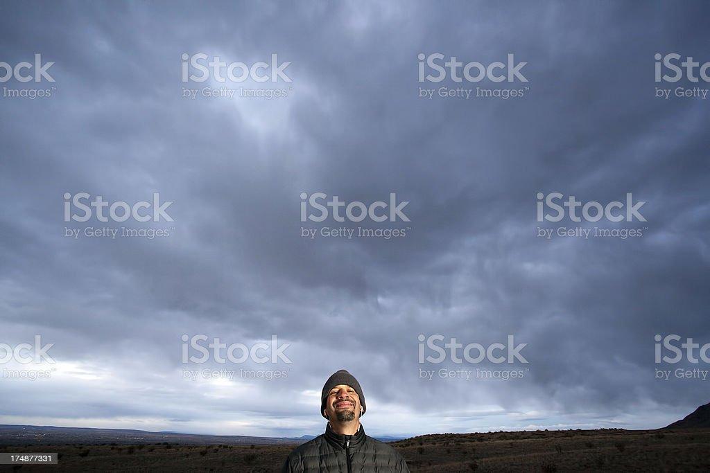 big smile sky royalty-free stock photo