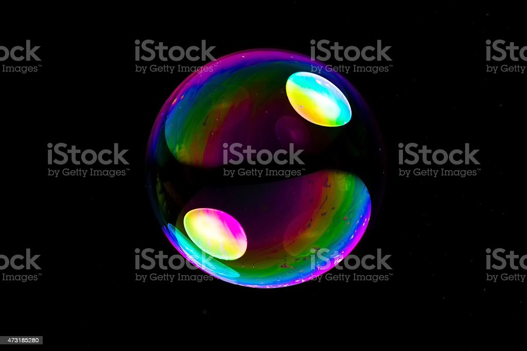 big soapbubble stock photo