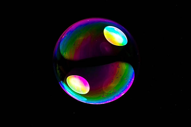 big soapbubble - delude stock pictures, royalty-free photos & images