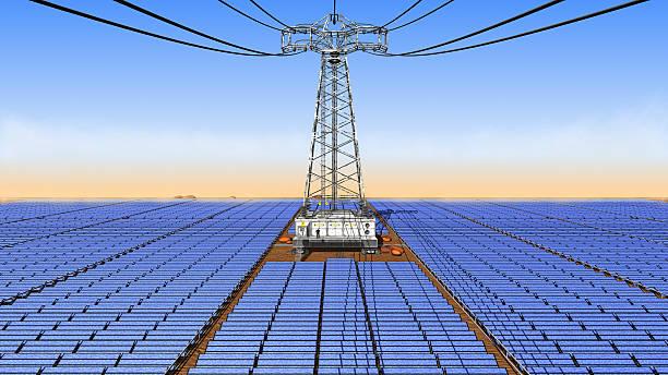 big solar Zelle park – Foto