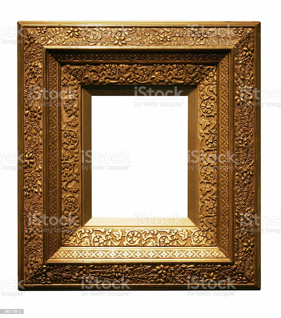 Big solid frame to use in your design royalty-free stock photo