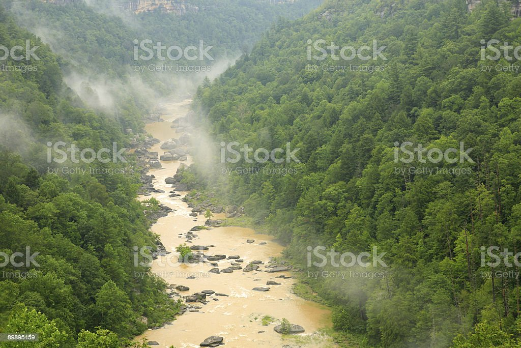 Big South Fork royalty-free stock photo