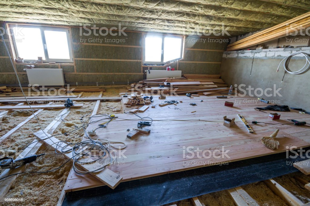 Osb Fußboden Knarrt ~ Welcher fußboden im dachboden » dachboden ausbauen fussboden
