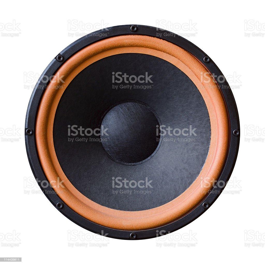 Big Speaker isolated stock photo