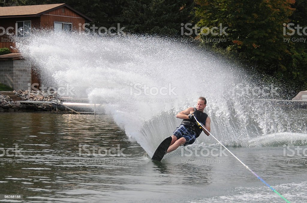 Big Spray! royalty-free stock photo