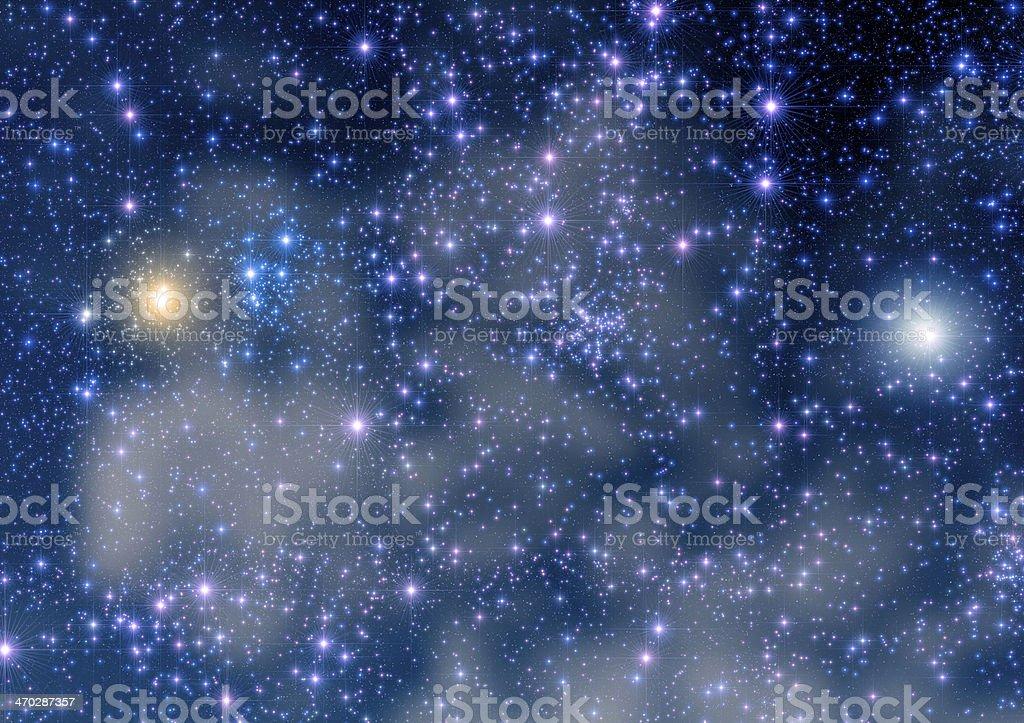 Big Starfield royalty-free stock photo