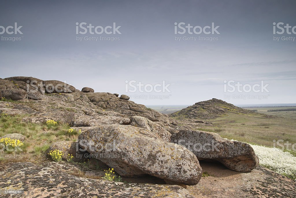 big stones royalty-free stock photo
