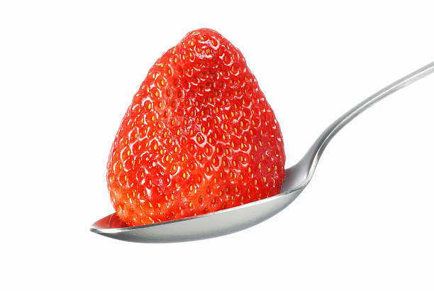 Big strawberry stock photo