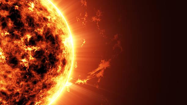 大きなサン星のスペース - 太陽 ストックフォトと画像