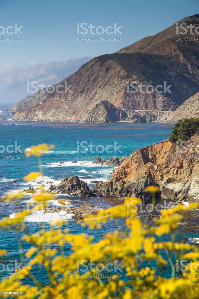 Big Sur, California Central Coast, USA stock photo