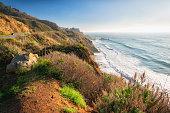Scenic Drives through Monterey County. Big Sur, State Route 1, California Coast