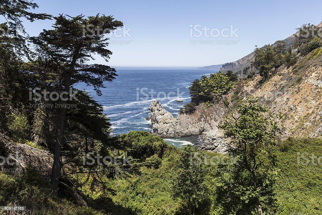 Big Sur California Pacific Coast stock photo