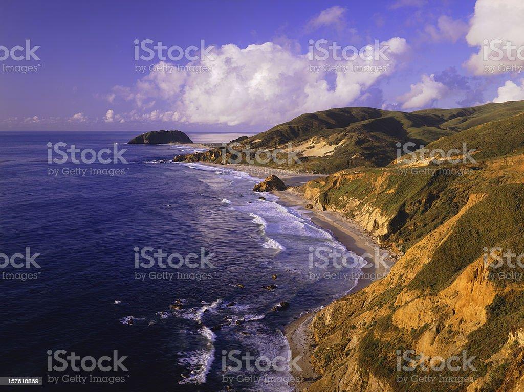 Big Sur Coast of California royalty-free stock photo